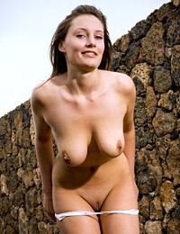 Model ashley in lonely road